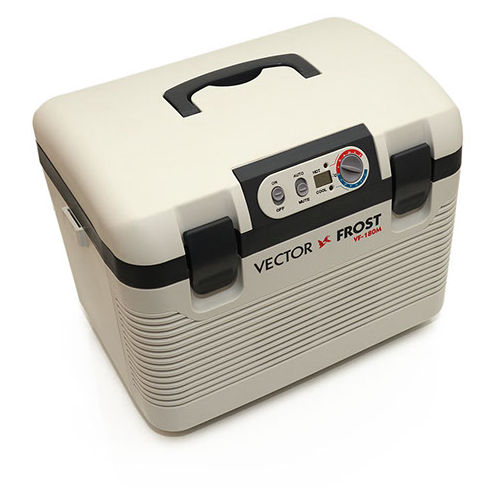 Автомобильный холодильник Vector Frost VF-180M бежевый/черный худи pink frost pink frost pi023ewezoo8