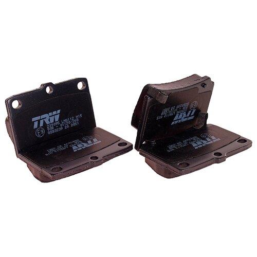 Дисковые тормозные колодки задние TRW GDB3239 для Mitsubishi Pajero Sport, Mitsubishi Montero (4 шт.) дисковые тормозные колодки передние nibk pn3809 для nissan nv200 mitsubishi l200 mitsubishi pajero sport 4 шт
