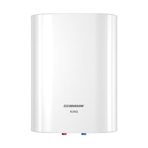 Накопительный электрический водонагреватель Edisson King 30 V, белый