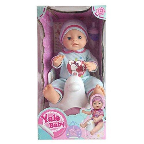 Фото - Интерактивный пупс Tongde Yale Baby, 40 см, 800499 интерактивный пупс baby doll