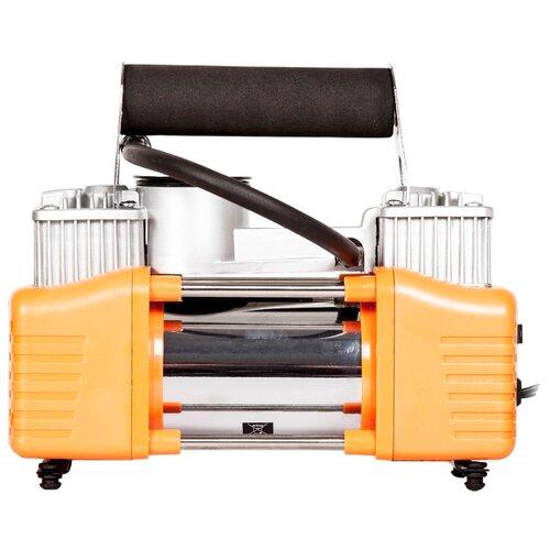 Автомобильный компрессор Bort BLK-700x2 оранжевый/серебристый