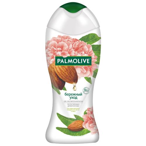 Купить Гель-крем для душа Palmolive Бережный уход с миндальным маслом и пионом, 250 мл