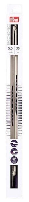 Спицы Prym полимерные Ergonomics диаметр 5 мм, длина 35 см