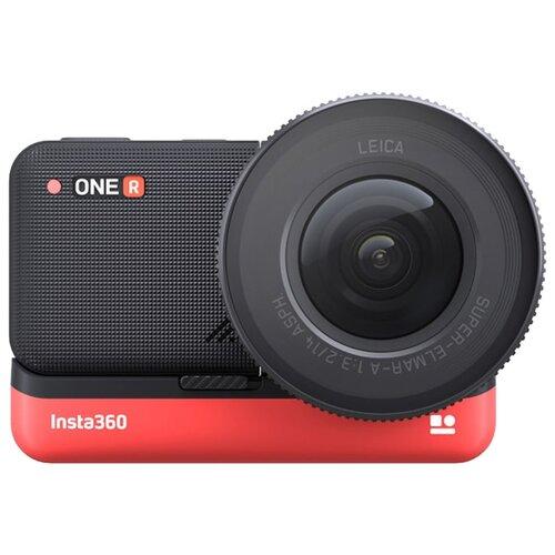 Купить Экшн-камера Insta360 One R 1 Inch черный/красный