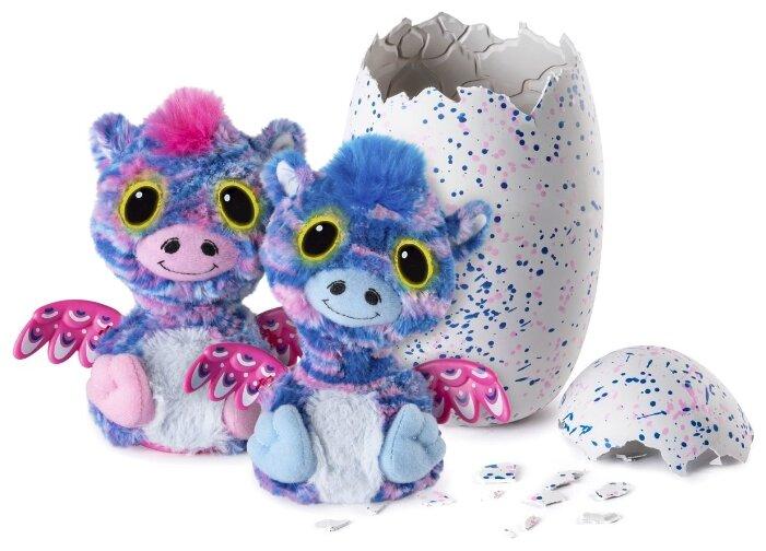 Интерактивная мягкая игрушка Hatchimals Surprise Twins - Zuffin (Зеброчки) 19110-ZUF