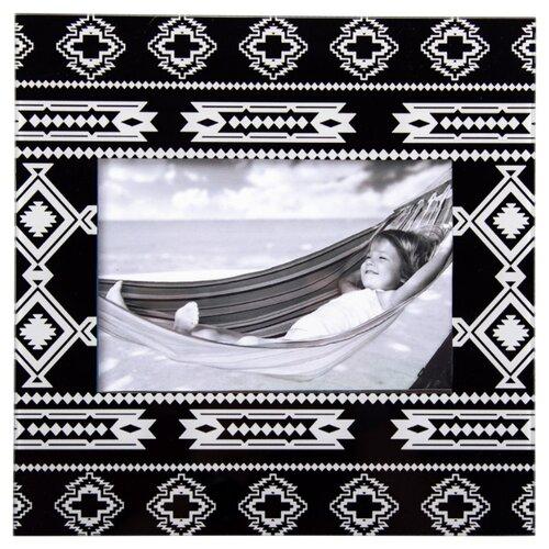 Фоторамка Русские подарки 78955 10х15 см черно-белый
