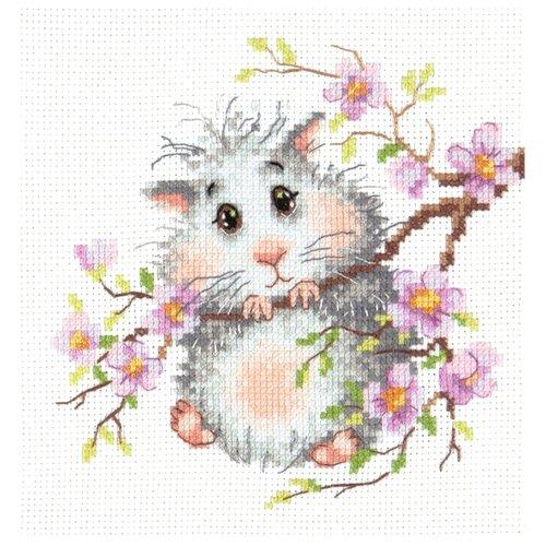 Чудесная Игла Набор для вышивания Хомячок 15 х 14 см (18-92) набор для вышивания крестом чудесная игла утопаю в любви 13 х 12 см