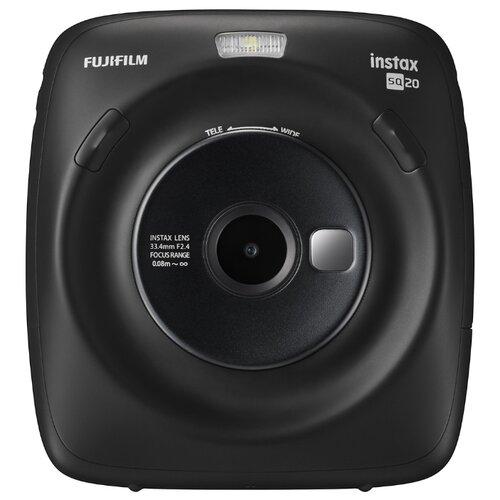 Фото - Фотоаппарат моментальной печати Fujifilm Instax SQ 20, черный фотоаппарат fujifilm instax mini 9 flamingo pink