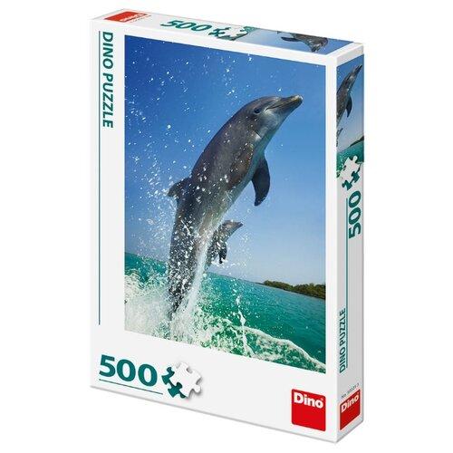 Пазл Dino Дельфины (502253), 500 дет. ботинки dino ricci select dino ricci select mp002xm23yru