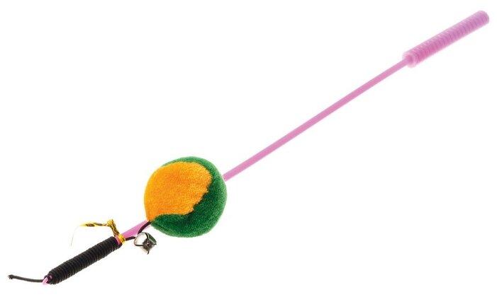 Дразнилка для кошек V.I.Pet Дразнилка-удочка с игрушкой мяч (ST-107)