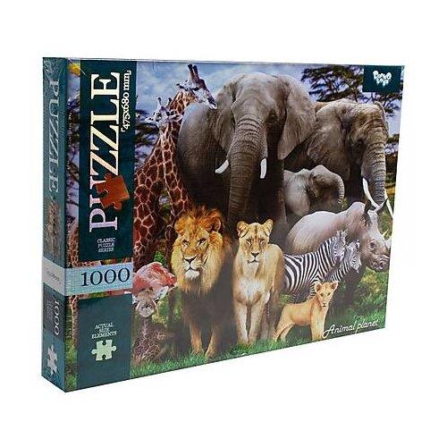 Пазл Danko Toys Животные (C1000-10-09), 1000 дет. пазл danko toys городская река
