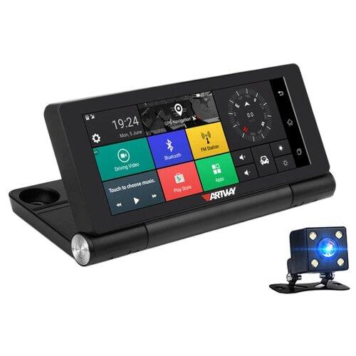 Фото - Видеорегистратор Artway MD-920 Android 12 в 1, 2 камеры, GPS черный видеорегистратор blackview md x7 android 3g 2 камеры gps черный