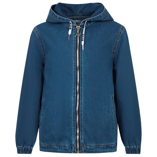 Купить Куртка MSGM 022607 размер 164, синий, Куртки и пуховики