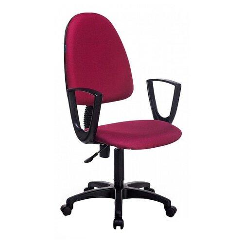 Компьютерное кресло Бюрократ CH-1300N офисное, обивка: текстиль, цвет: бордовый 3C18 офисное кресло бюрократ ch 1300n