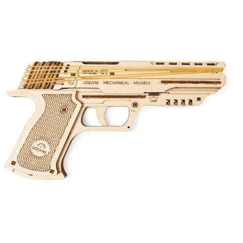 Купить Сборная модель UGEARS Пистолет Вольф-01, Сборные модели