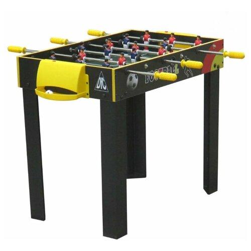 Игровой стол для футбола DFC Santos ES-ST-3620 черный / желтый