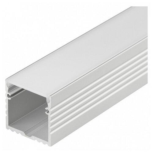 Комплект (профиль, рассеиватель) Arlight ALU-POWER-W35S-2000 ANOD+FROST серый профиль arlight alu power w35s 2000 anod frost серый