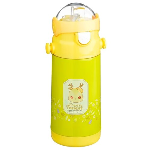 Термокружка Satoshi Kitchenware детский 841780, 0.5 л желтый