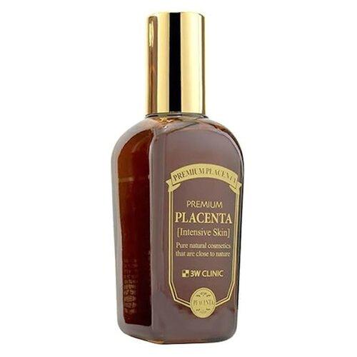 3W Clinic Premium Placenta Intensive Essence Эссенция с плацентой для ухода за зрелой кожей лица, 50 мл сыворотка для век антивозрастной с плацентой 3w clinic premium placenta brightening day eye serum 50 мл