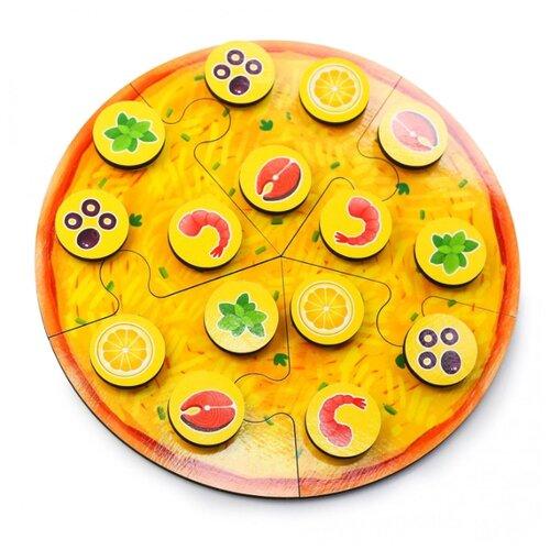 Пазл PAREMO Пицца с морепродуктами (PE720-59), 20 дет. пазл paremo лев pe720 66 6 дет