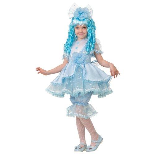 Купить Костюм Батик Мальвина (8046), голубой, размер 128, Карнавальные костюмы