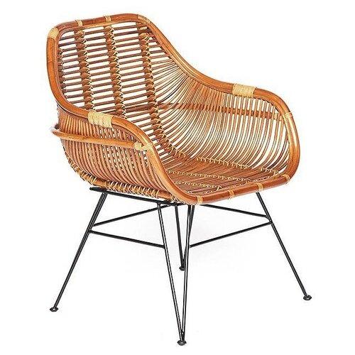 Кресло Secret de Maison Pitaya светлый мед/черный банкетка secret de maison aprica multicolor доступные цвета alba multicolor