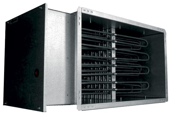 Электрический канальный нагреватель Salda EKS 80x50/36