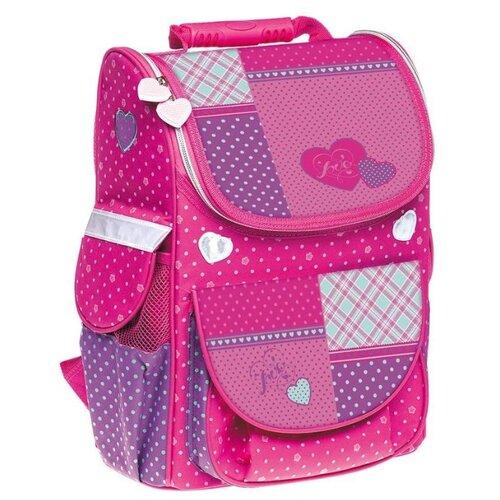 Hatber ранец Balance Лоскутный стиль NRk_13029, розовый