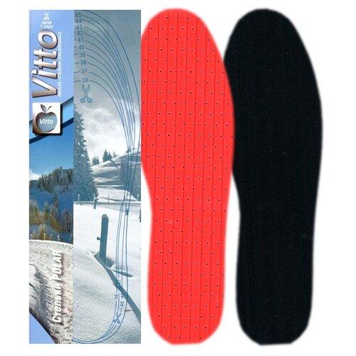 Стельки для обуви Vitto Polar черный/красный 36-46