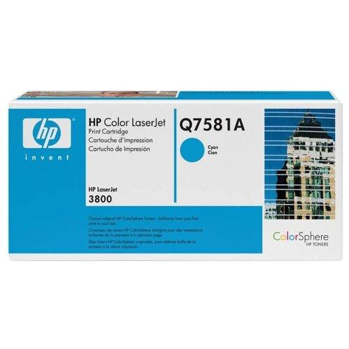 Фото - Картридж ориг. HP Q7581A голубой для Color LJ 3800/CP3505 (6000стр), цена за штуку, 96256 картридж ориг hp cn054ae 933xl голубой для officejet 6100 6600 6700 825стр цена за штуку 176373