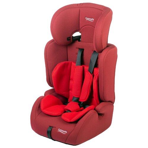 Купить Автокресло группа 1/2/3 (9-36 кг) Comsafe CityGuard, red, Автокресла