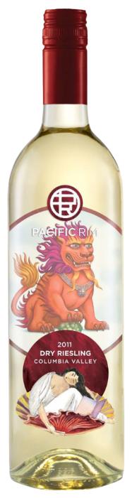 Вино Pacific Rim Dry Riesling, 2016, 0.75 л