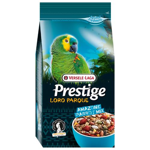 Versele-Laga корм Prestige PREMIUM Loro Parque Amazone Parrot Mix для крупных попугаев 1000 г корм для крупных попугаев versele laga prestige premium ara parrot loro parque mix 2 5 кг