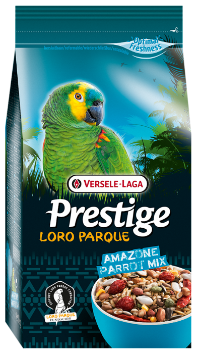 Versele-Laga корм Prestige PREMIUM Loro Parque Amazone Parrot Mix для крупных попугаев