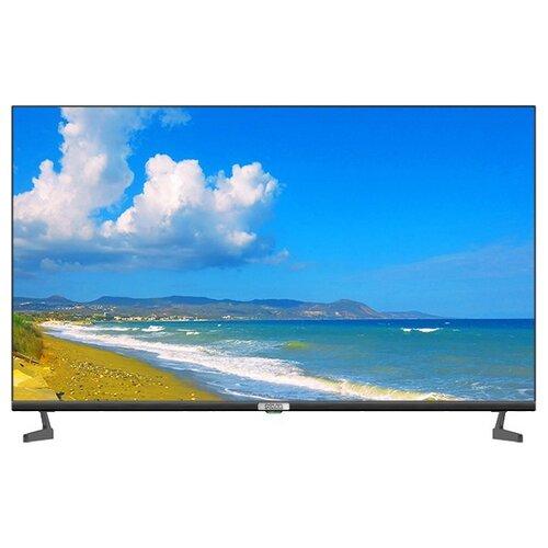 """Телевизор Polar P43L22T2C 43"""" (2020), черный/серебристый"""