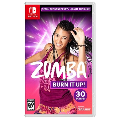 Игра для Nintendo Switch Zumba Burn It Up! геймпад nintendo switch pro controller
