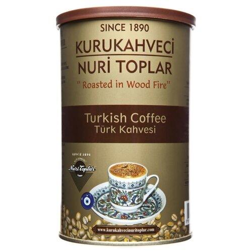Кофе молотый Kurukahveci Nuri Toplar Turkish coffee, жестяная банка, 500 г to4rooms комод nuri