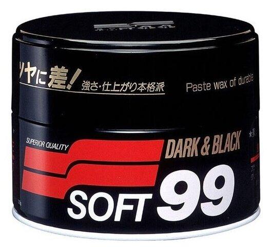 Воск для автомобиля Soft99 твердый Soft Wax для темных оттенков кузова