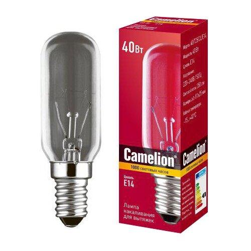 Фото - Лампа накаливания для бытовой техники Camelion 12984, E14, T25, 40Вт аксессуары для бытовой техники