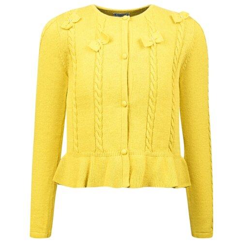 Купить Кардиган Mayoral размер 104, желтый, Свитеры и кардиганы