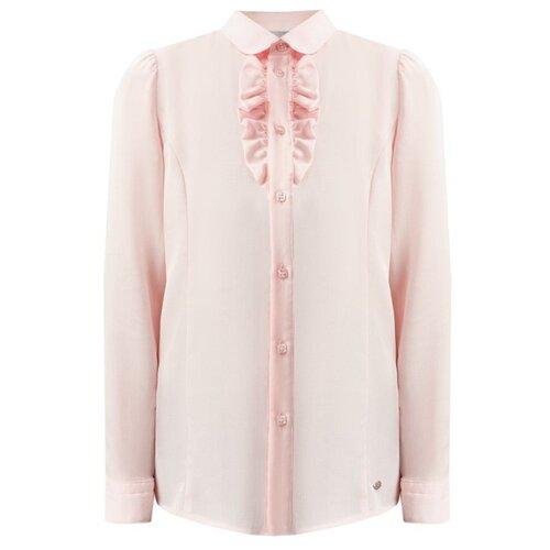 Блузка FiNN FLARE размер 14 (164), бледно-розовый