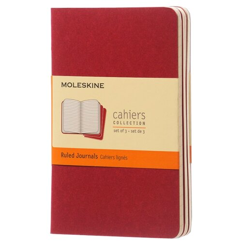Комплект блокнотов 3 шт. Moleskine Cahier Journal Pocket 90x140, 32 листа 394878(CH111)