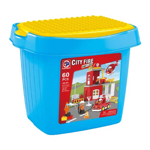 Конструктор Kids home toys 188-224 City Fire Station