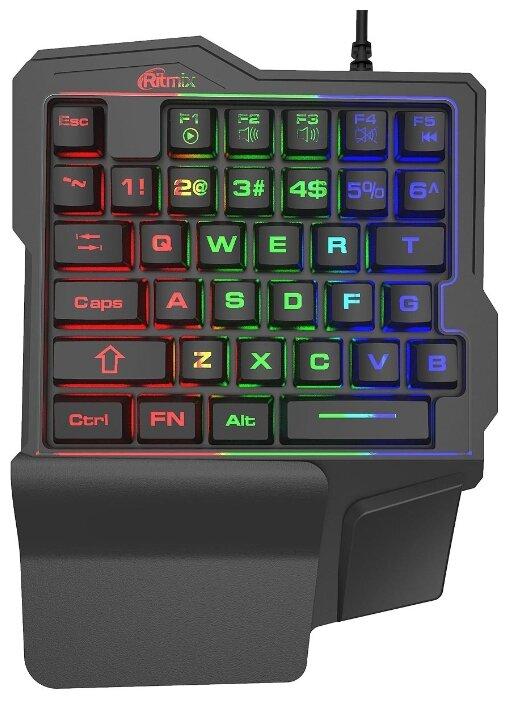 Игровая клавиатура Ritmix RKB-209BL Gaming Black USB — купить по выгодной цене на Яндекс.Маркете
