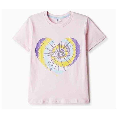 Купить Футболка Elaria размер 158, розовый, Футболки и майки
