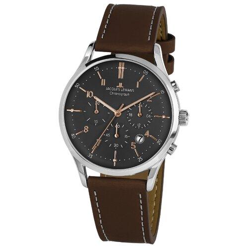 Фото - Наручные часы JACQUES LEMANS 1-2068O наручные часы jacques lemans 1 2110e