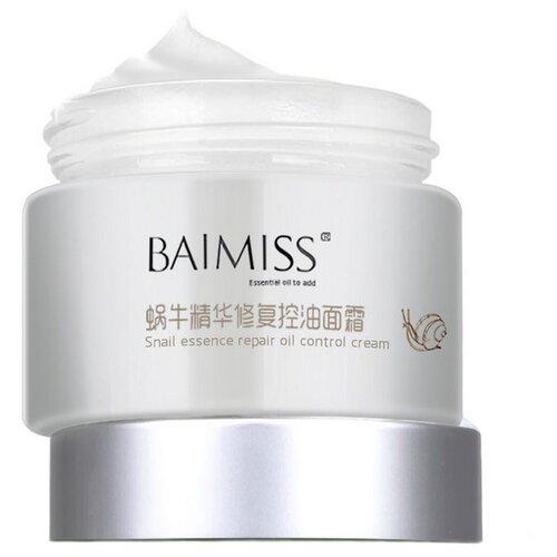 Baimiss Snail Essence Repair Oil Control Cream Питательный восстанавливающий крем для лица с муцином улитки, 50 г baimiss 60 page 1