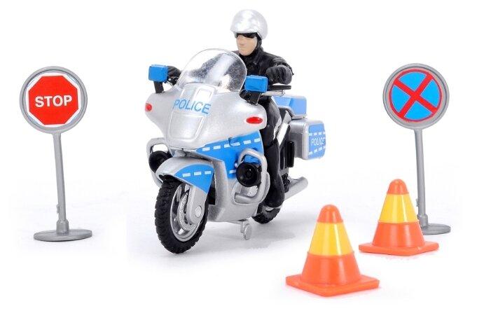 Игровой набор Dickie Toys Полицейский на мотоцикле 3315391