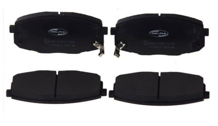 Дисковые тормозные колодки передние DELPHI LP1819 для Kia Ceed, Hyundai i30 (4 шт.)
