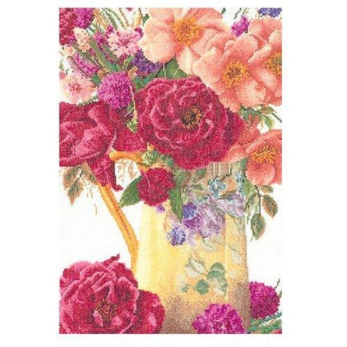 Купить Набор для вышивания Букет роз, канва лен 36 ct, Thea Gouverneur, Наборы для вышивания